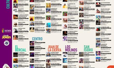 108 actividades culturales con el 'Verano en la calle' de Getafe