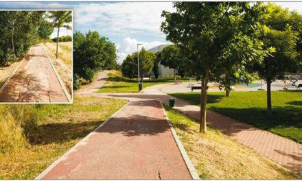 Reparación y acondicionamiento de la senda ciclable de Pinto (camino rojo)
