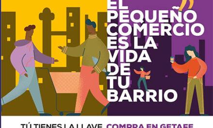 """ACOEG lanza la campaña """"Compra en tu barrio. Compra en Getafe"""""""