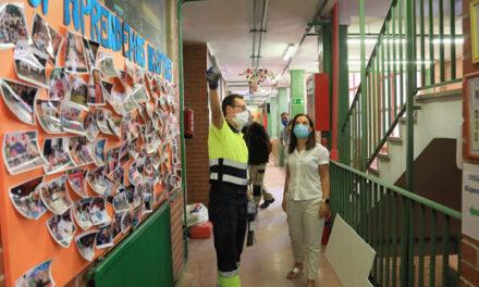 El Ayuntamiento de Getafe concluye la preparación de los colegios para el inicio de curso