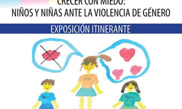 Pinto acoge la exposición «Crecer con miedo»: niños y niñas ante la violencia de género