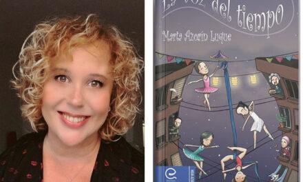 La getafense Marta Azorín Luque acaba de publicar su segundo libro de relatos, 'La voz del tiempo', con Ediciones Alfeizar