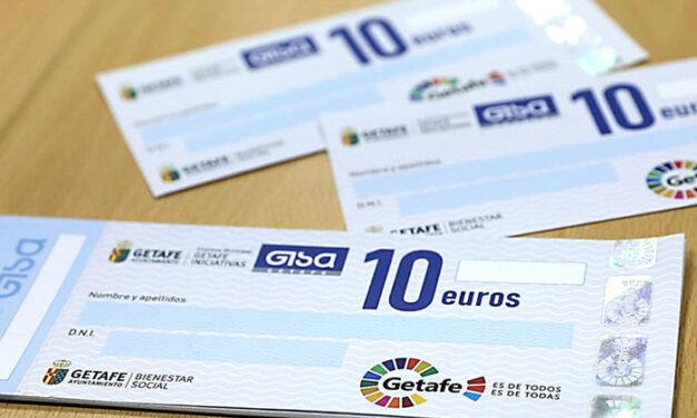 GISA entrega 12.650 'Cheques Sociales' a 765 familias de Getafe afectadas por la crisis de la COVID-19