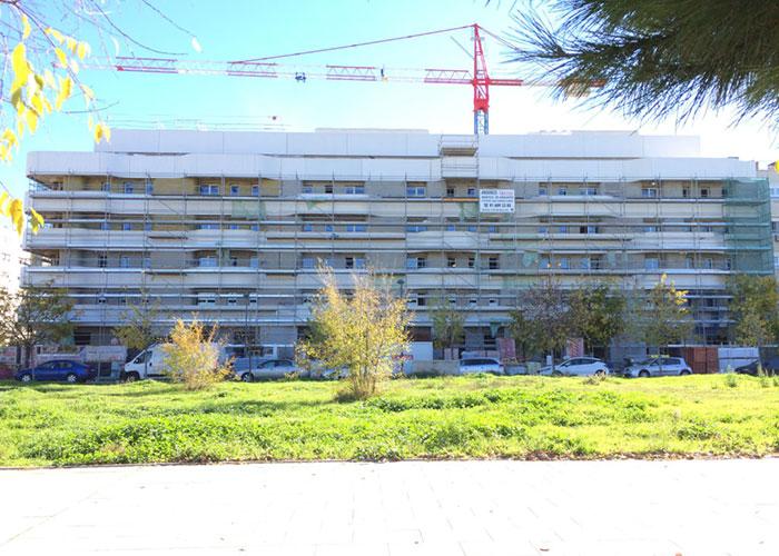 La EMSV ha abierto el plazo para optar a las viviendas vacantes de la promoción que construye en El Rosón